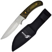 Joy Enterprises FP74421 Fury Mustang Mirror Finished Razor Edge Blade Hunting Knife, 8""