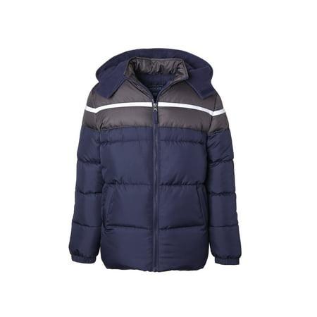 Cherokee Baby Toddler Boy Colorblock Winter Jacket Coat 2t Winter Coat