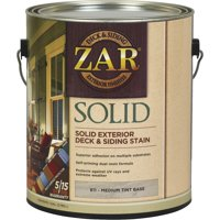 UGL ZAR 81113 1 gal Medium Tint Base Solid Color Deck Stain