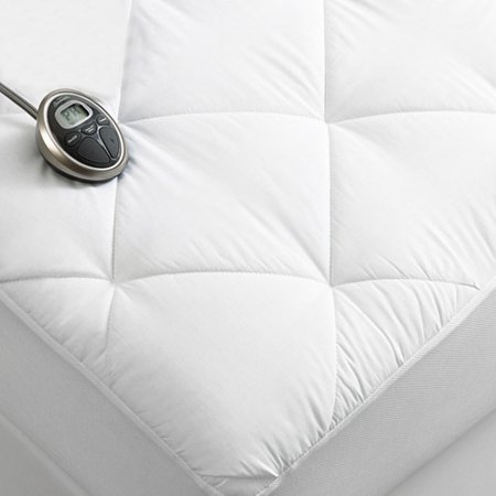Sunbeam Premium Luxury Quilted Electric Heated Mattress Pad Twin