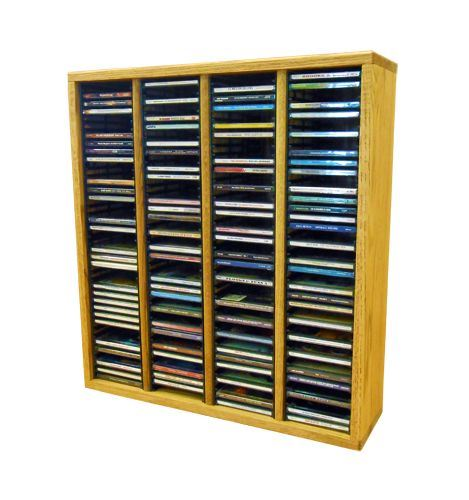 The Wood Shed 409-2 CD Cabinet - Clear