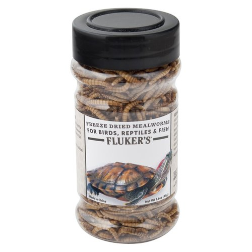 Fluker's Freeze Dried Mealworms, 1.6 oz