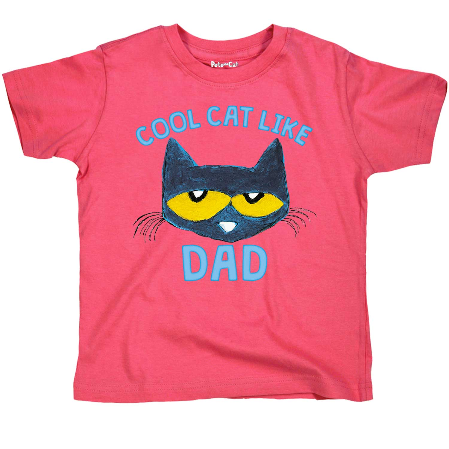 Pete the Cat  Licensed Book Character Cool Cat Like Dad Toddler Tee