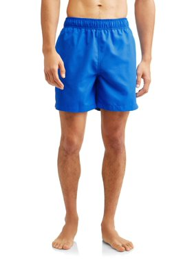 Men's and Men's Big Basic Swim Trunks, ...