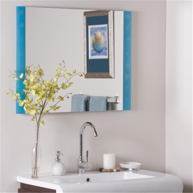Decor Wonderland SSM173 The Spa Frameless Bathroom Mirror