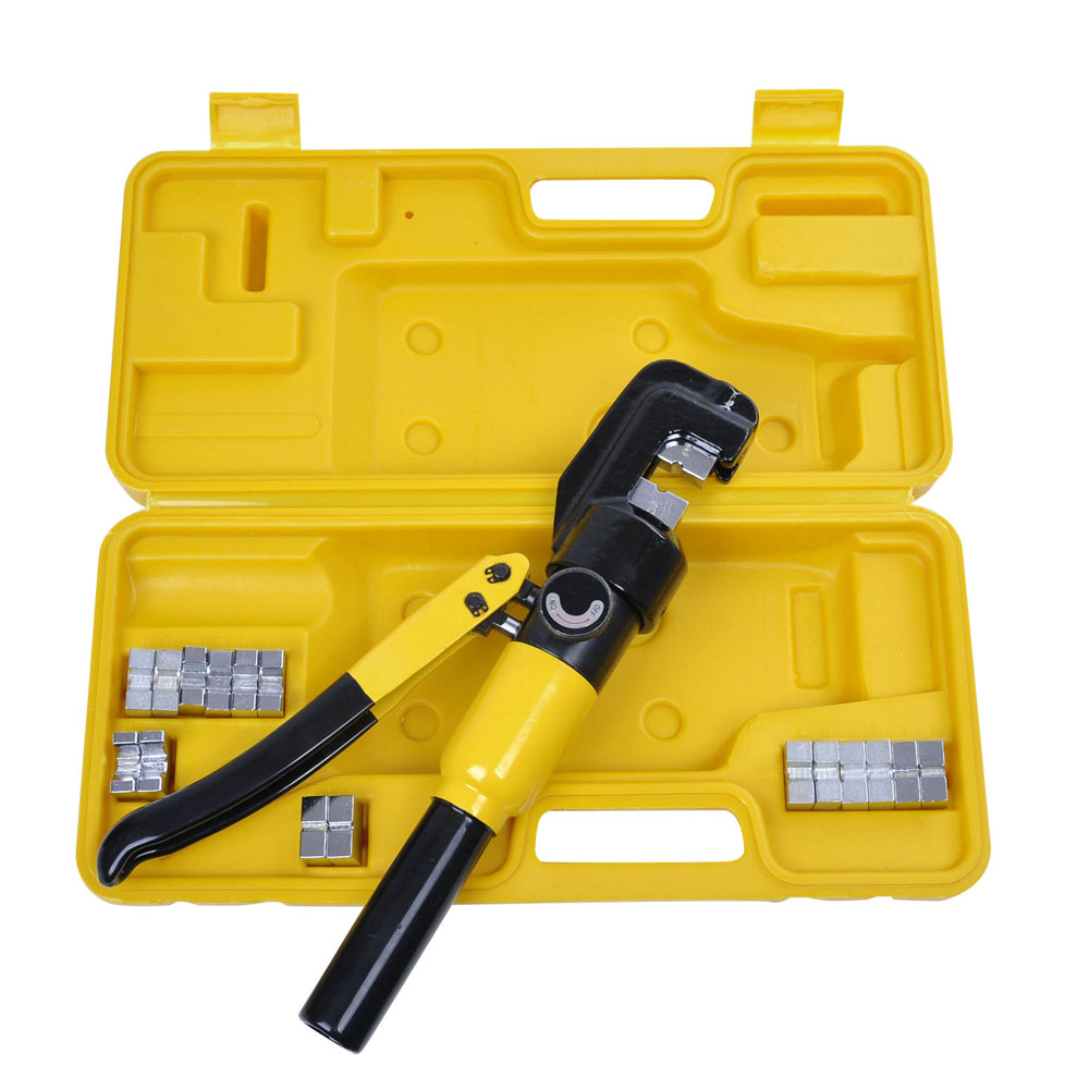 Yescom 10 Ton Hydraulic Wire Battery Cable Lug Terminal