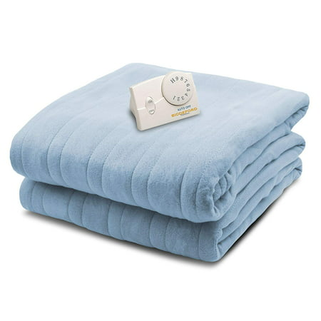 Biddeford Knit Fleece Electric Heated Warming Blankets Twin Full Queen King