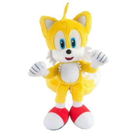 Plush Toy - Sonic the Hedgehog - Modern Tails - 8 Inch - Punching - Tails The Hedgehog