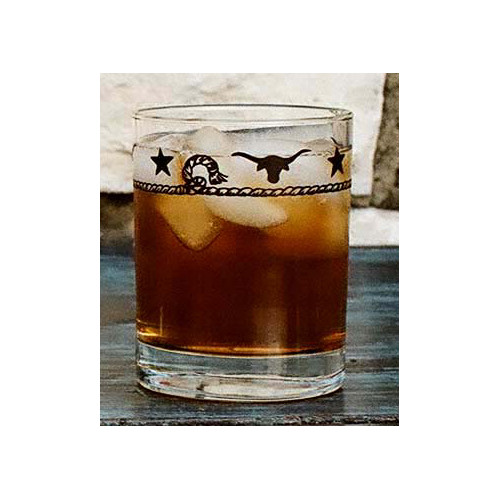 West Creation Western Double 14 oz. Old Fashioned Glass (Set of 4)