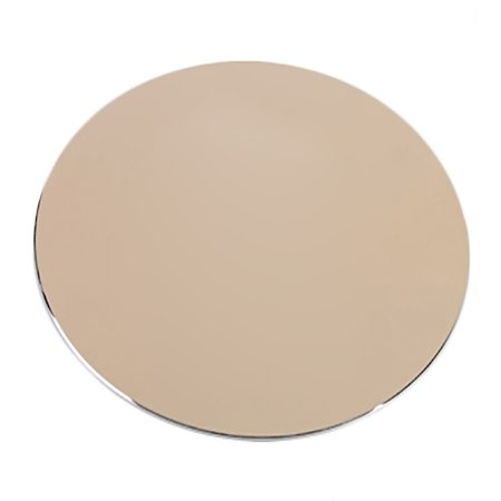 Computer Accessory Cushion Metal Aluminum Mouse Pad 8.66 Inch Double Side Round Mouse Mat