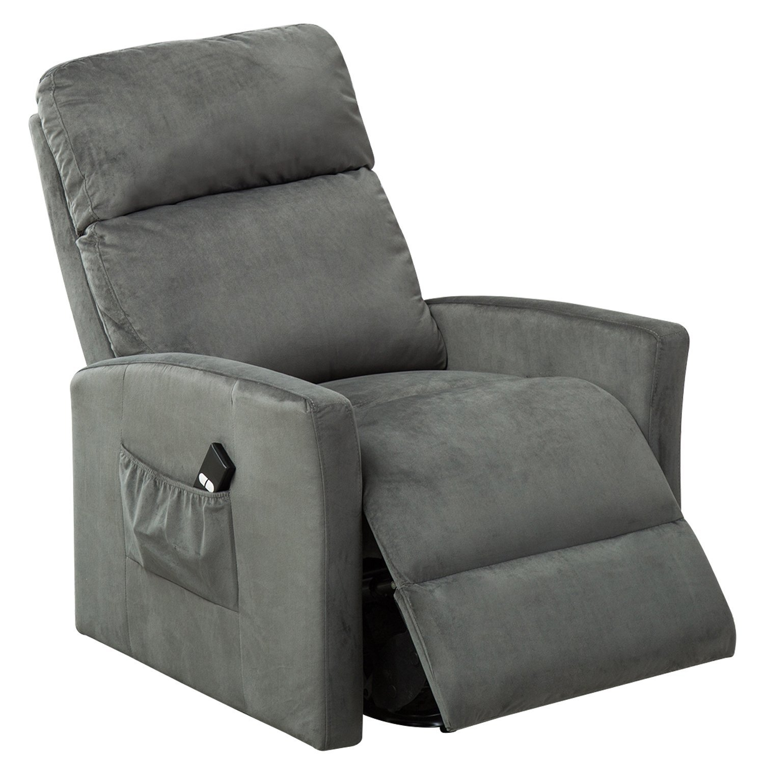 BONZY Lift Chair Power Reclining and Lifting Motion Recliner - Chocolate