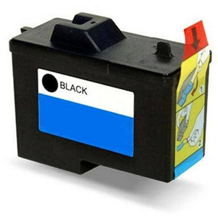 Universal Inkjet Premium Remanufactured Dell 7Y743/Series 2 Cartridge, Black Dell T0529 Black Inkjet