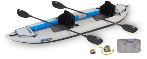 Sea Eagle 385FT FastTrack Inflatable Kayak Pro Package by Sea Eagle Boats, Inc.