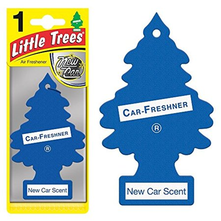 Magic Tree Little Trees Car Home Air Freshener Freshner Smell Fragrance Aroma Scent - NEW CAR (48