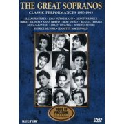 The Great Sopranos: Classic Performances 1950-1963 by KULTUR VIDEO