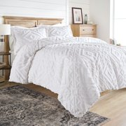 Better Homes and Gardens 3 Piece Chenille Duvet Cover Set