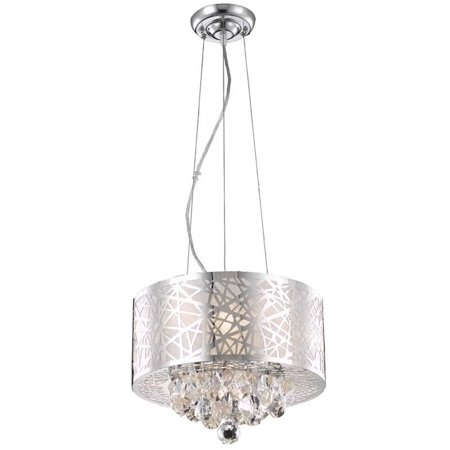 Elegant Lighting Prism 14   3 Light Royal Crystal Pendant Lamp