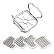5 in 1 Multifunctional Vegetable Cutter with Steel Blade Stainless Food Fruit Slicer Chopper Kitchen Accessories