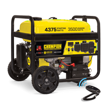 Champion 100558 3500-Watt Portable Generator with Wireless Remote Start