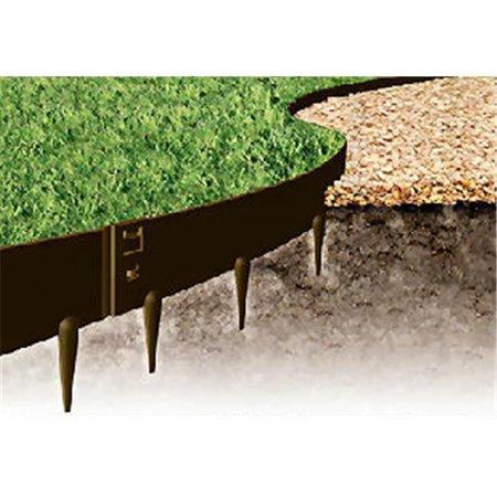 Kinsman 39 x 5 in. Everedge Lawn Edging, Brown - Pack of 5 ()