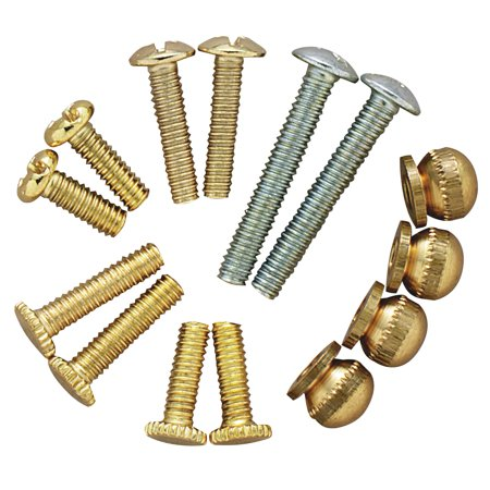 Fixture Screws - WESTINGHOUSE LIGHTING CORP 14-Piece Metric Lighting Fixture Repair Kit 70635