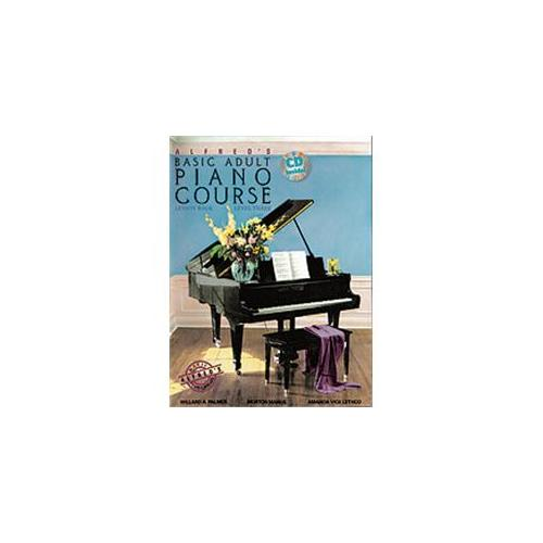 Alfred 00-34928 Basic Adult Piano Course- Lesson Book 3 - Music Book
