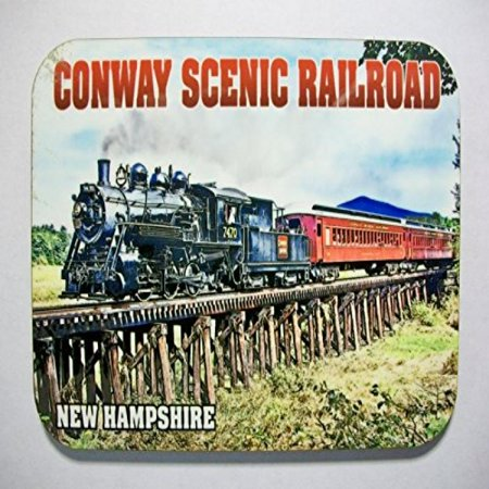 Conway Scenic Railroad New Hampshire Photo Fridge Magnet