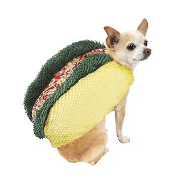 Way to Celebrate Halloween Taco Dog Costume