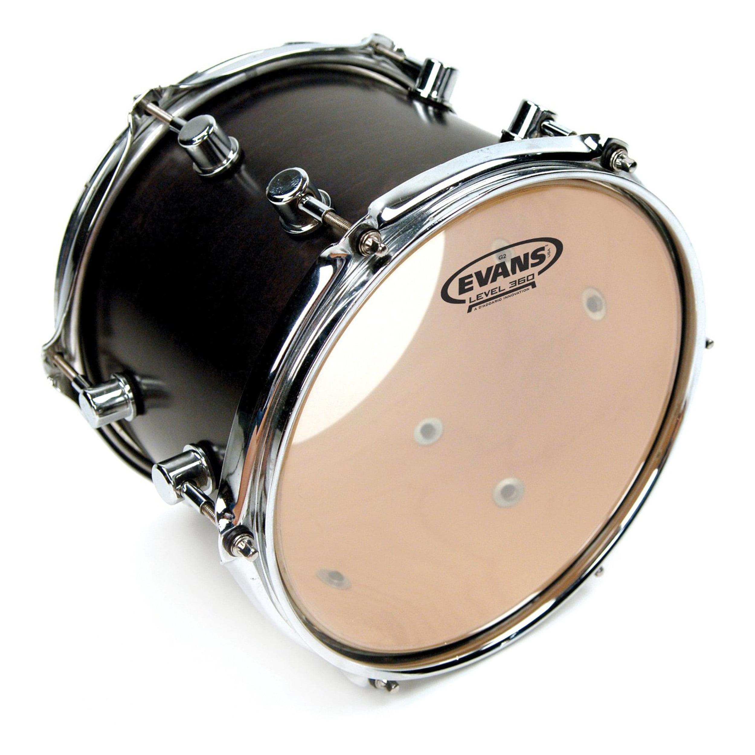 """Evans 10"""" Genera 2 Clear Drum Head"""