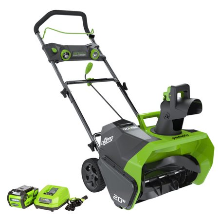 Greenworks 20-Inch 40V Cordless Snow Thrower, 4.0 AH Battery Included 26272 (Cordless Snow Blower)