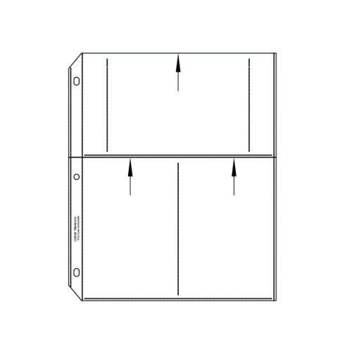 C-Line 4 x 6 Multiview Photo Holders (Set of 2 BX) CLI41346BNDL2BX