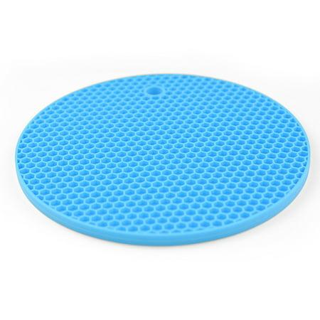 Circular Honeycomb Design Silicone Heat Insulation Mat Thickened Anti-slip Heat Insulation Mat - image 5 of 8