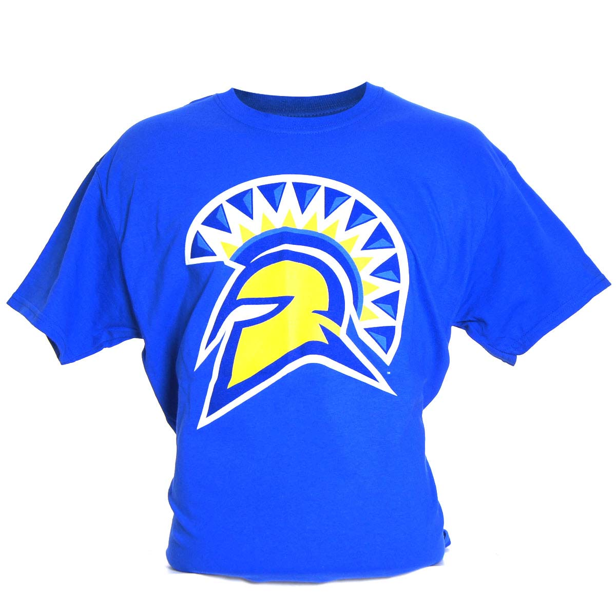 San Jose State Spartans Medium Logo T-Shirt (Blue)