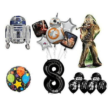 The Ultimate Star Wars 8th Birthday Party Supplies and Balloon decorations - Star Wars Birthday Decorations