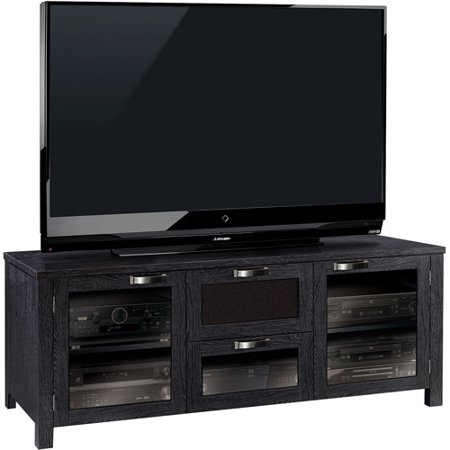 Bell O Pamari Winston Black Flat Panel Tv Stand For Tvs Up
