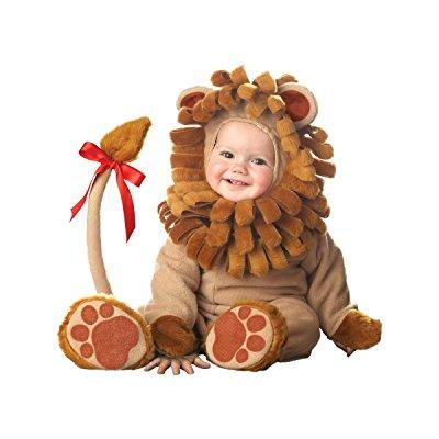 incharacter costumes baby's lil' lion costume, brown, large (18 months-2t)