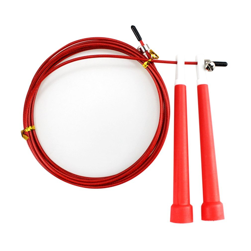 3m Steel Wire Speed Skipping Jump Rope Adjustable Fitness Exercise Rope