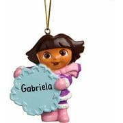 Personalized Dora the Explorer Ornament