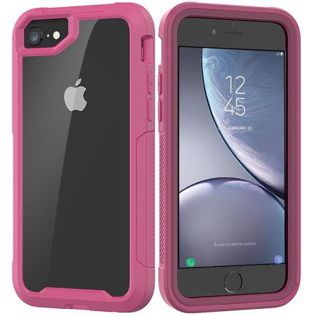 iPhone 6S Case, iPhone 6 Case, Allytech Hybrid Clear PC Silicone Shockproof Heavy Duty Protection Anti-Scratch Defender Bumper Rubber Boy Women Case Cover for Apple iPhone 6S / iPhone 6,Purple ()