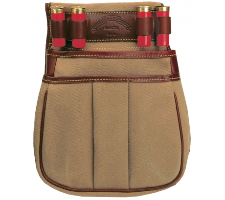 Galco Canvas & Leather Sporting Clays Pouch 50 CT by