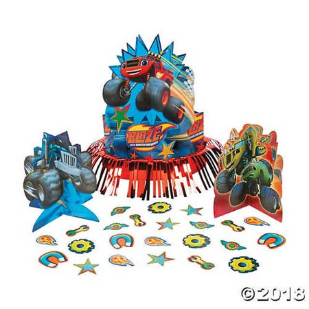 Blaze & The Monster Machines™ Table Decorating Kit - Monster High Table Decorations