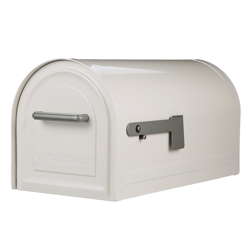 Gibraltar Mailboxes Reliant Locking Large Capacity Galvanized Steel Black Post Mount... by Solar Group Inc.
