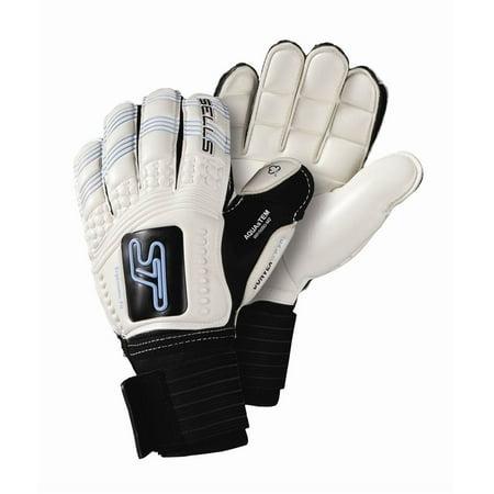 Convex Aqua Embossed Goalie Glove  6