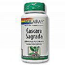 Cascara Sagrada 450 mg By Solaray - 100  Capsules Cascara Sagrada 100 Tab