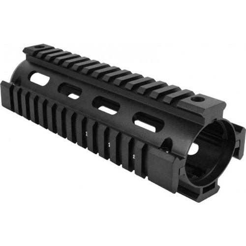 AimSports M4 Handguard/Quad Rail Carbine Length , Black