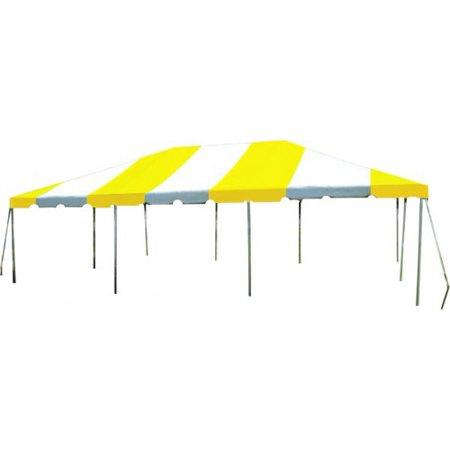 20 x 30 Yellow & White West Coast Frame Tent - Walmart.com