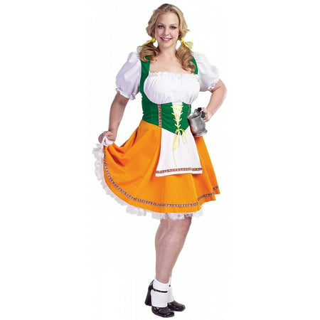 Swiss Miss Adult Costume - X-Large