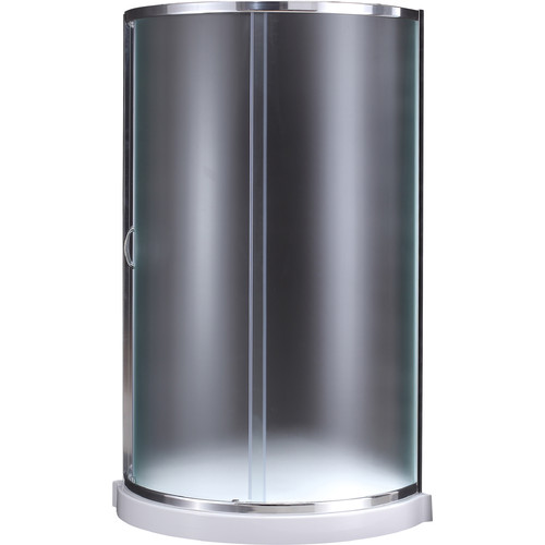 Ove Decors Breeze 38'' x 76'' Round Sliding Shower enclosure