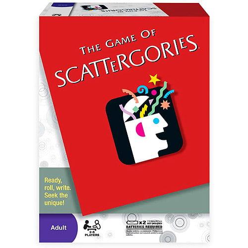 Scattergories Game Walmart Com Walmart Com