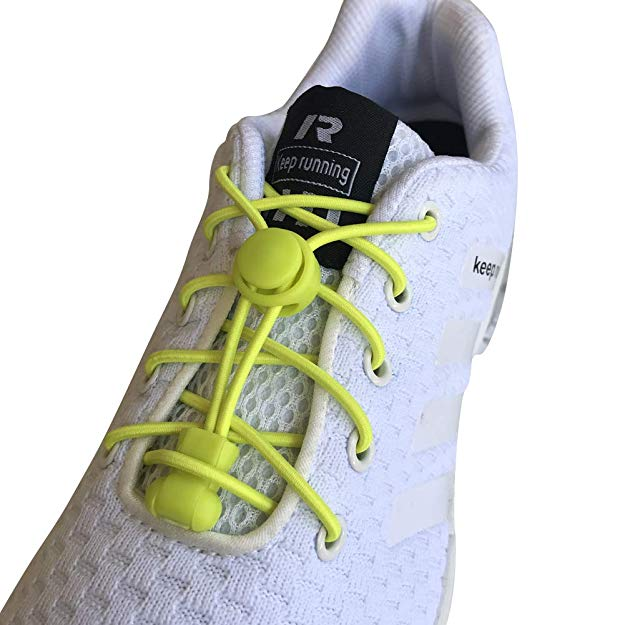3 pair No Tie Elastic lock laces Shoe laces for running jogging kids adult boots